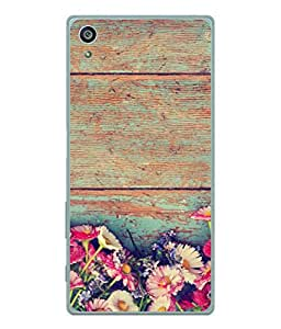 Fuson Designer Back Case Cover for Sony Xperia Z3+ :: Sony Xperia Z3 Plus :: Sony Xperia Z3+ dual :: Sony Xperia Z3 Plus E6533 E6553 :: Sony Xperia Z4 (Garden Flowers Phool Gardening Wall )