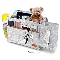 Simboom Felt Bedside Caddy, Bedside Hanging Storage Organizer