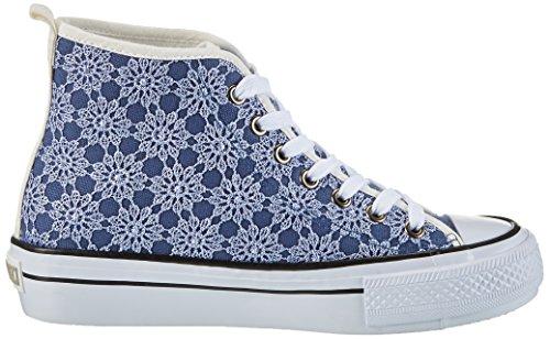 Fiorucci Damen Fepa001 Sneaker Blau (Blu)