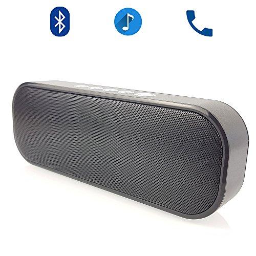 ONVAYA® Tragbarer Bluetooth Lautsprecher S13 Freisprecheinrichtung Sound Box | 12 Stunden Spielzeit | AUX Micro SD USB MP3 Sony Heim-lautsprecher