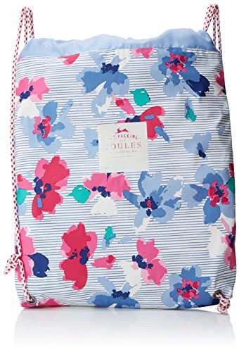 Tom Joule Joules Mädchen Rubber Bag Geldbörse, Mehrfarbig (Lily Pond Stripe), 2x38x33.5 centimeters