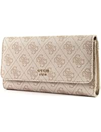 GUESS Halley SLG Multi Embrayage Stone - Beige - Taille Unique Vn0So