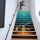 LongYu Treppen Selbstklebende Tapete islamischen Ramadan Segnung Hauptdekoration 3D abnehmbare DIY Schritte Aufkleber Moderne HD Wasserdichte Treppe Tapete kaufen DREI eins kostenlos