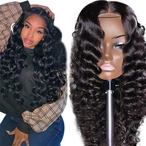 Extension Hairpiece Wavy Curly Glamorous Long Full Ladies Wigs Heat-Resistant Frizzy Layered Young Ladies Wig Best Quality (26 In Tape Zoll Hair Extensions)