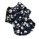 MRULIC Damen Fledermaus Hemd Lässig locker Top Dünnschnitt Bluse T-Shirt(T-Marineblau,EU-48/CN-3XL)