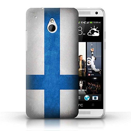 Kobalt® Imprimé Etui / Coque pour HTC One/1 Mini / Pays de Galles/gallois conception / Série Drapeau Finlande/finlandais