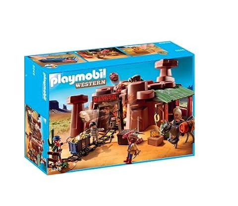 Playmobil - 5246 - Jeu de Construction - Mine d'or