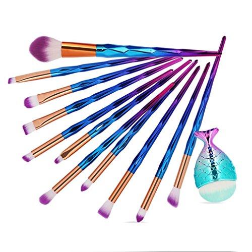 12PCS Pinselset Kosmetik Make Up Pinsel Set 16 Stücke Pinselsets Schminkpinsel Kosmetikpinsel Set...
