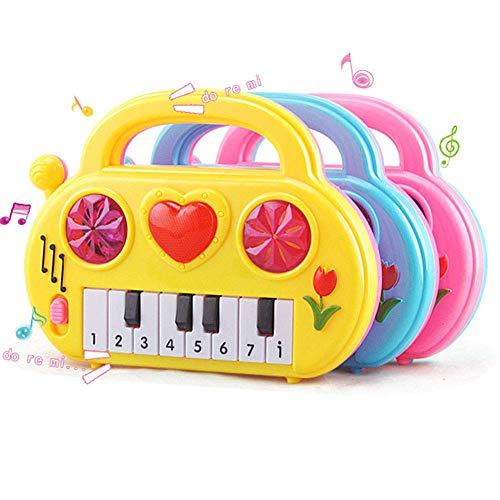 Ogquaton Bébé Enfants Piano Électronique Early Educational Musical Toy Enfants Jouant Cadeau Couleur Aléatoire Durable et Utile