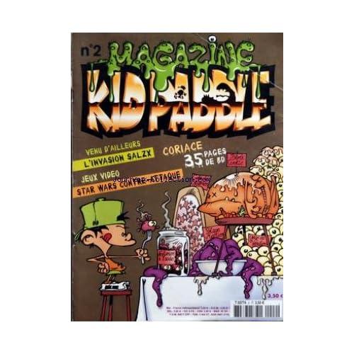 MAGAZINE KID PADDLE [No 2] - L'INVASION SALZX - JEUX VIDEO - - STARS WARS