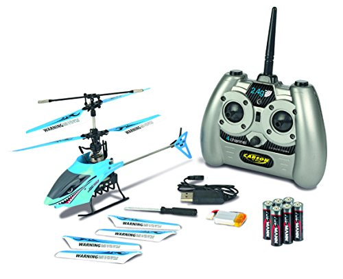 Carson 500507048 - Undemanding Tyrann 180 IR 4-Kanal Gyro 100% RTF Helicopter