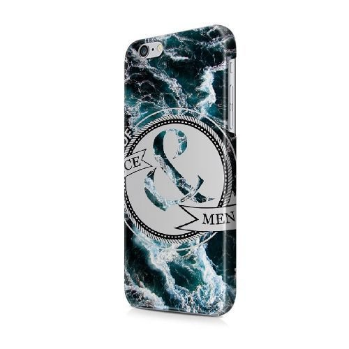 iPhone 6/6S (4.7 pouces) coque, Bretfly Nelson® NIRVANA Série Plastique Snap-On coque Peau Cover pour iPhone 6/6S (4.7 pouces) KOOHOFD908992 OF MICE & MEN - 015