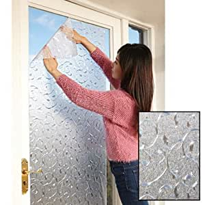Easy To Install Reusable Privacy Window Cling Sun Shades