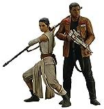 Star Wars SW121Episode 7Rey und Finn ARTFX + Statue