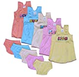 #5: 5 Frock And Matching Shorts for Kids (COOL-007)