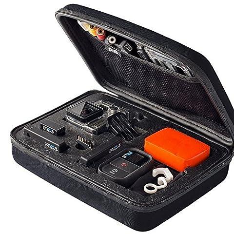 GoPro Fall, favolook Kameratasche rv77tragbar Medium EVA Aufbewahrung Paket tragbar Sicherheit Fall Zubehör für GoPro Hero HD4xiaoyi für die meisten Sports Kamera