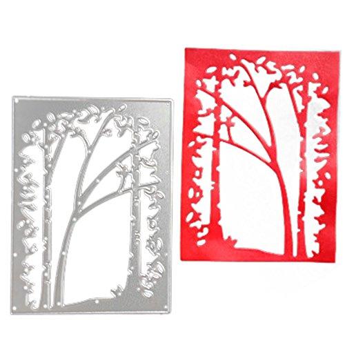 Rameng- DIY Matrice De Découpe Cutting Dies Stencils Scrapbooking Gaufrage Papier Carte (D)