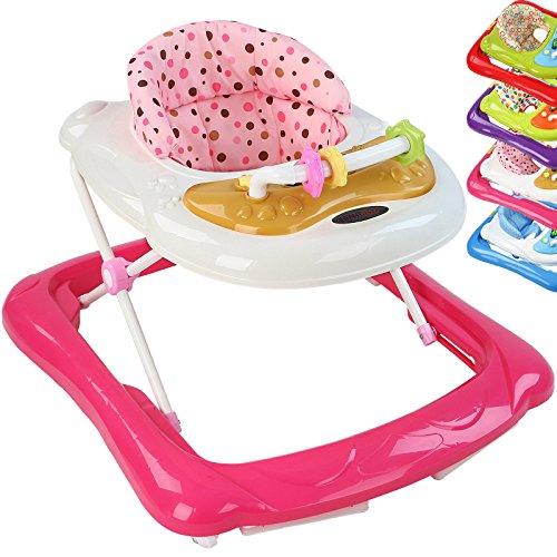 Infantastic Babywalker Lauflernhilfe Lauflernwagen Gehhilfe, inkl. Konsole mit Kindermelodien