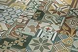 PARADOR Elastische Bodenbeläge Vinyl Trendtime 5.30 Ornamentic colour Mineralstruktur mit HDF-Trägerplatte 4-V-Micro-Fuge Steindekor, Betonfarben, Fliesenoptik 1602122 Paket a 1,783m² Klickvinylboden - Vinyl-Laminat
