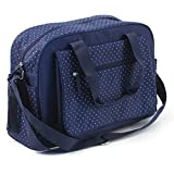 Summer Infant 78626 Wickeltasche Navy Polka, blau/weiß gepunktet