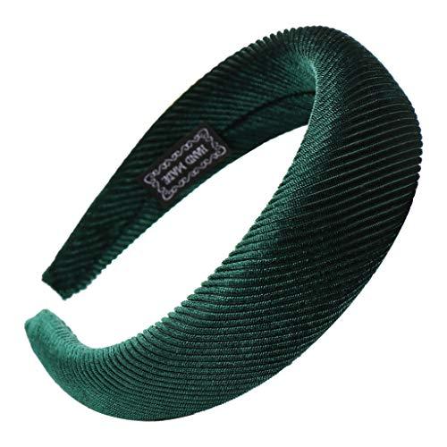 Yvelands Damen Mode Stirnbänder Breit Haarbänder Haarreif Verknotet mit Punkte Muster und Knoten Haarschmuck Stirnband Retro Style Haarband Mädchen süß hochwerige Headband Kopfband -