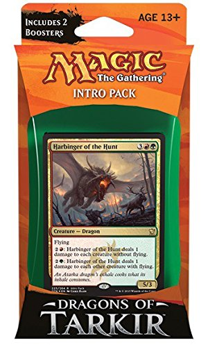 Gathering Magic Drachen The Karten (Magic The Gathering Dragons of Tarkir Furious Forces Intro Deck by Magic: the Gathering)