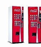 Vinyl Stickers Verkaufsautomat Cola-Cola für Kühlschrank.| Kühlschrank Aufkleber | Verschiedene Maße 185 x 60 cm | Klebstoffbeständig und einfache Anwendung | Stilvoller Design-dekorativer