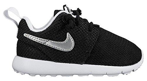 Nike Unisex Baby Roshe One (Tdv) Lauflernschuhe schwarz / weiß