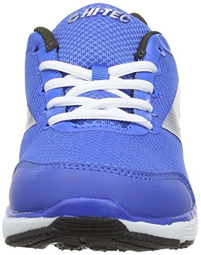 Hi-Tec  Pajo Jr, Chaussures multisports d'extérieur pour fille Bleu (Royal/dark Grey/silver 031)