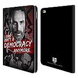Head Case Designs Offizielle AMC The Walking Dead Demokratie Rick Grimes Erbschaft Brieftasche Handyhülle aus Leder für iPad Air 2 (2014)