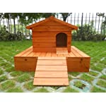 Easipet Duck House wooden floating platform 263 11