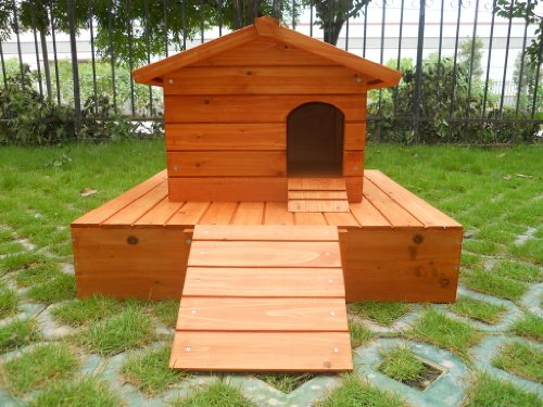 Easipet Duck House wooden floating platform 263 4