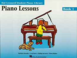 Piano Lessons - Book 1: Hal Leonard Student Piano Library par [Hal Leonard]