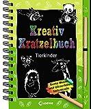 Kreativ-Kratzelbuch: Tierkinder: ab 5 Jahre