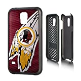 Washington Redskins Rugged Case for Samsung Galaxy S 5 Cell Phones - Black/Red/Yellow/White by ProMark