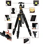 koolehaoda Portable Camera Tripod Monopod & Ball Head Carry Bag For DSLR SLR Photo