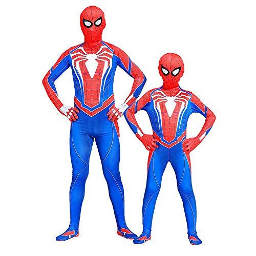 Spiderman Ps4 Game Character Cosplay Strumpfhosen Halloween Kostüm Overall 3D Kostüm Superman Für Erwachsene