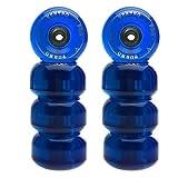 Ventro pro rouleaux turbo 62 à roulettes avec roulements à billes Bleu Bleu