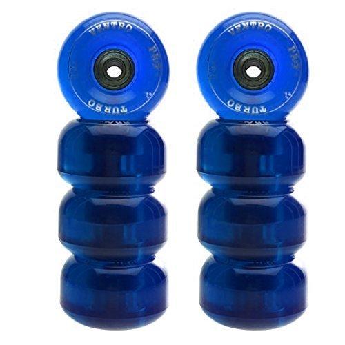 et Turbo62 für Rollschuhe, inkl. Kugellager Blau blau ()