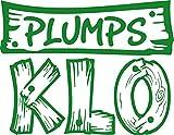 GRAZDesign 650270_30_062 Wandtattoo für Badezimmer lustiges Spruch Plumps Klo | Fliesen-Aufkleber -Tattoo für WC und Bad | Tür-Aufkleber für Toiletten | auch für Spiegel - Fenster- Dusche geeignet (39x30cm // 062 hellgrün)