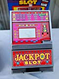 Radica Jackpot Slot Machine Savings Bank.12.5in ( Not A Gaming Device)