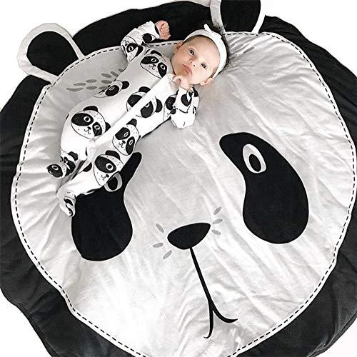 Alfombrilla de juego para niños Algodón redondo oso vivero alfombra bebé piso playmats gateando estera...