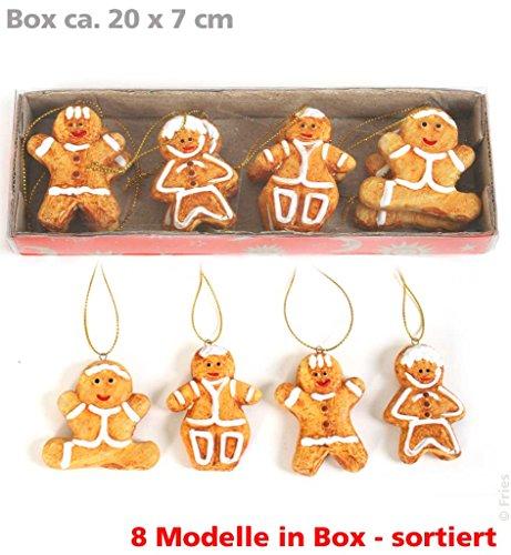 Weihnachtsbaumschmuck, Lebkuchenfiguren, Weihnachten, Advent