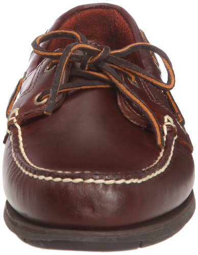 Timberland Icon 2-Eye, Herren Mokassins Braun (Marron foncé - Rootbeer Smooth)