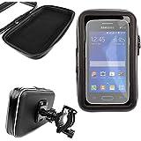 DURAGADGET Montaje Giratorio Para Bici De Montaña Y Funda Para Smartphone Samsung Galaxy On Nxt / Samsung Galaxy On8