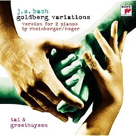 Goldberg Variations - Version For 2 Pianos By Rheinberger/Reger: 27. Canone Alla Nona. Allegro