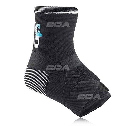 SDA bi-lateral Elastic Knöchelbandage mit verstellbare kompressionsgurte von Ultimate Performance–Gelenkbänder Verletzungen,/Verstauchung/Strain Displayschutzfolie/Schmerzen lindert Schmerzen/muskelversteifungen/Schwellungen/schwach bei überlastungen Knöchelbandage (Bilaterale Knöchelbandage)