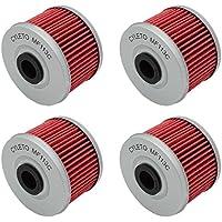 Cyleto - Filtro de aceite para VT125 C VT125C SHADOW 125 1999 2000 2001 2002 2003