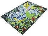 Dinosaurier Boys 02 Teppich | Spielteppich | Kinderteppich 80x120cm