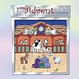 Xmas ~ Weihnachten ~ Adventskalender ~ Kalender ~ Krippe (S734)